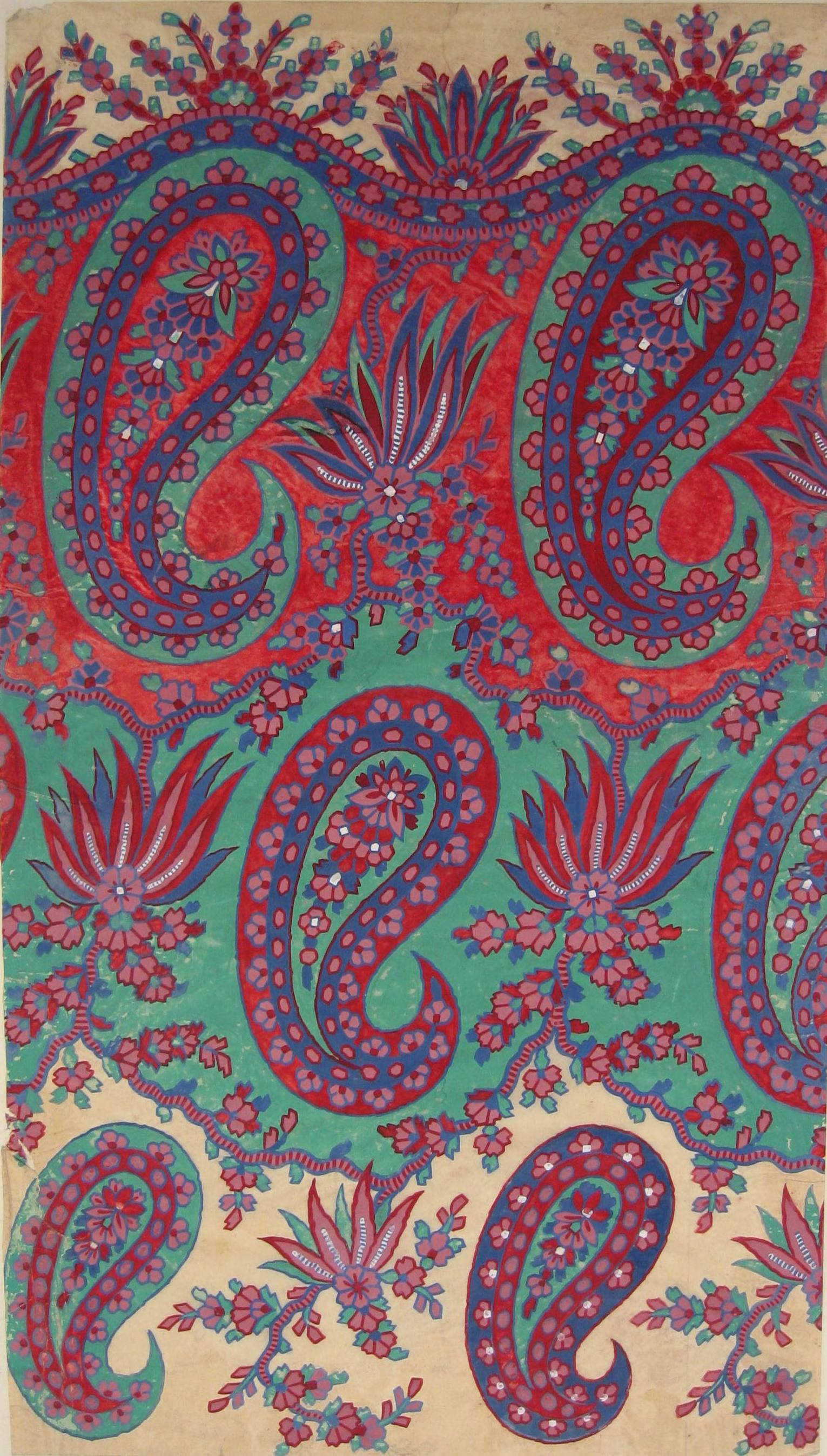 Paisley shawl designs - GSA Archives & Collections - GSA