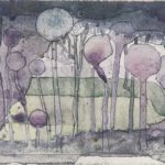 Cabbages in an Orchard, by Charles Rennie Mackintosh, from The Magazine, April, 1894