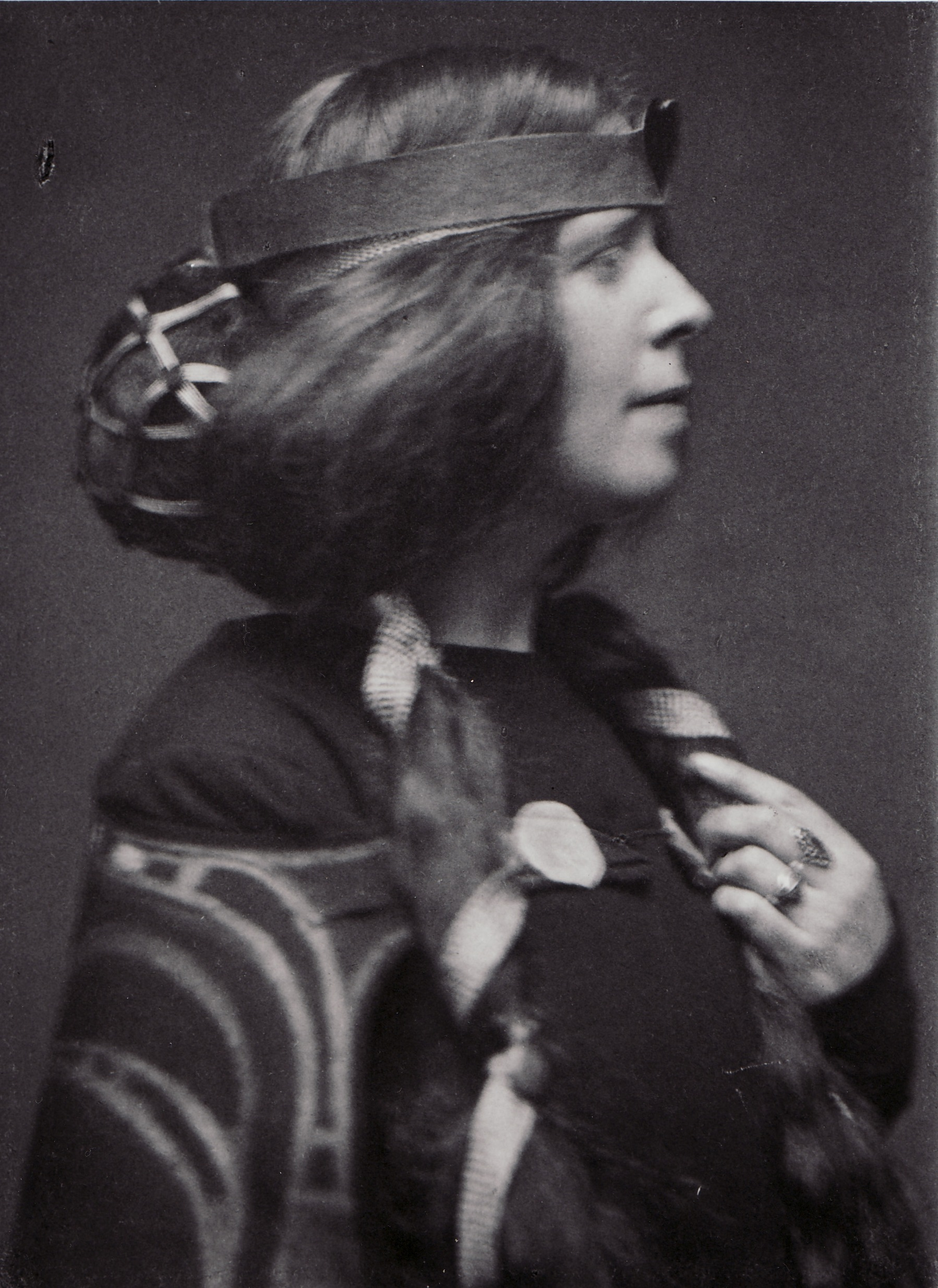 Margaret Macdonald Mackintosh, wife of Charles Rennie Mackintosh. Image credit: T R Annan & Son
