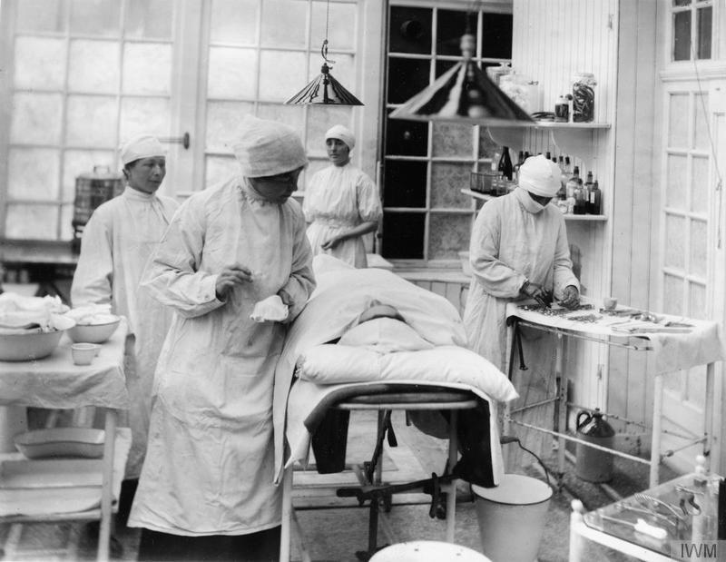 Women Medical Staff. Image courtesy of the Imperial War Museum