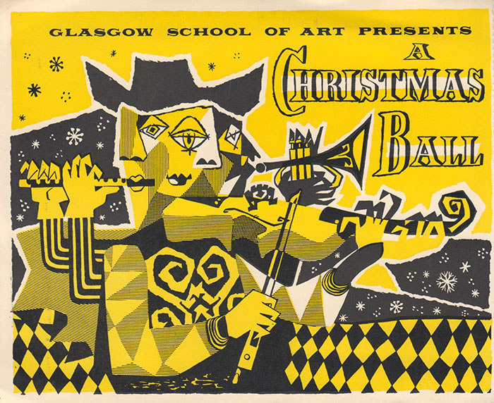 Glasgow School of Art presents a Christmas Ball (Archive reference: DC/73/42)