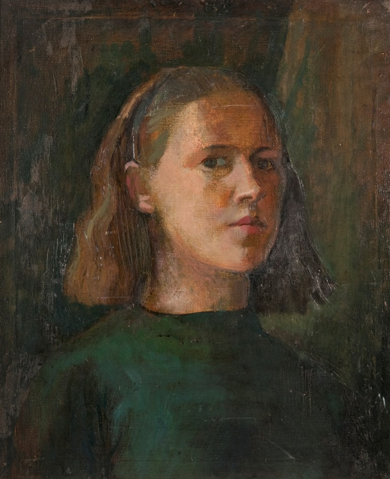 Cordelia Oliver Self Portrait (Archive reference: NMC/1023)