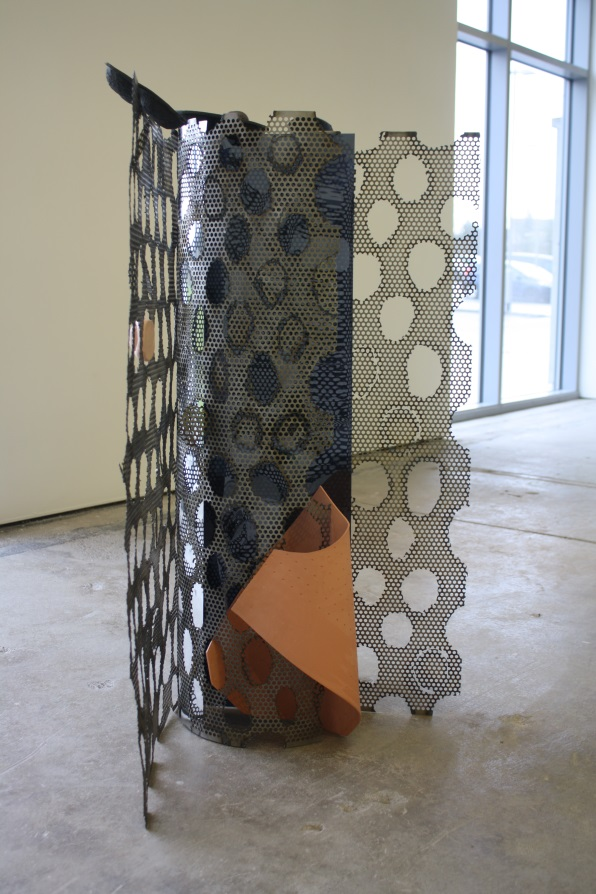 Day-to-day Containment 2016, Alisa Baremboym, images taken with permission from Glasgow Sculpture Studios, Exhibition runs at The Whisky Bond from the 8th of April to the 4th of June.