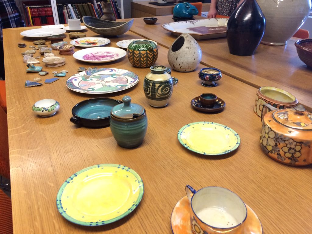 The Glasgow School of Art Archives and Collections Ceramic Collection