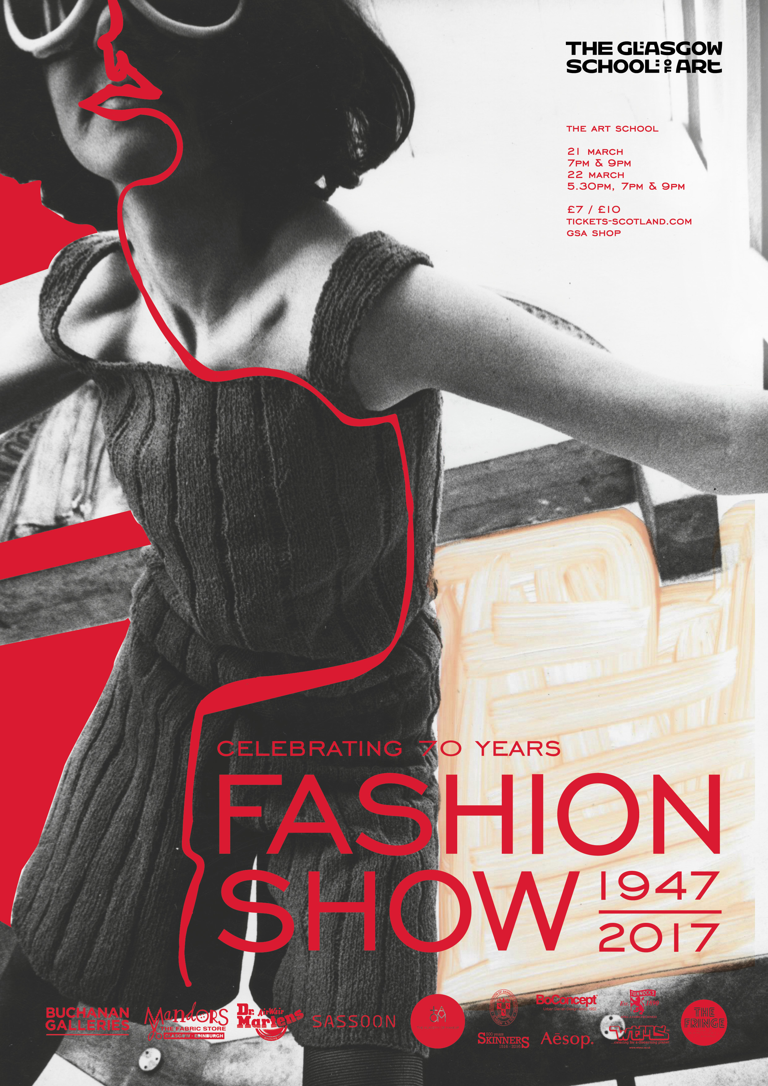 Poster For The 2017 Fashion Show Organised By 3rd Year Fashion And Textiles  Students. Poster  Fashion Poster Design