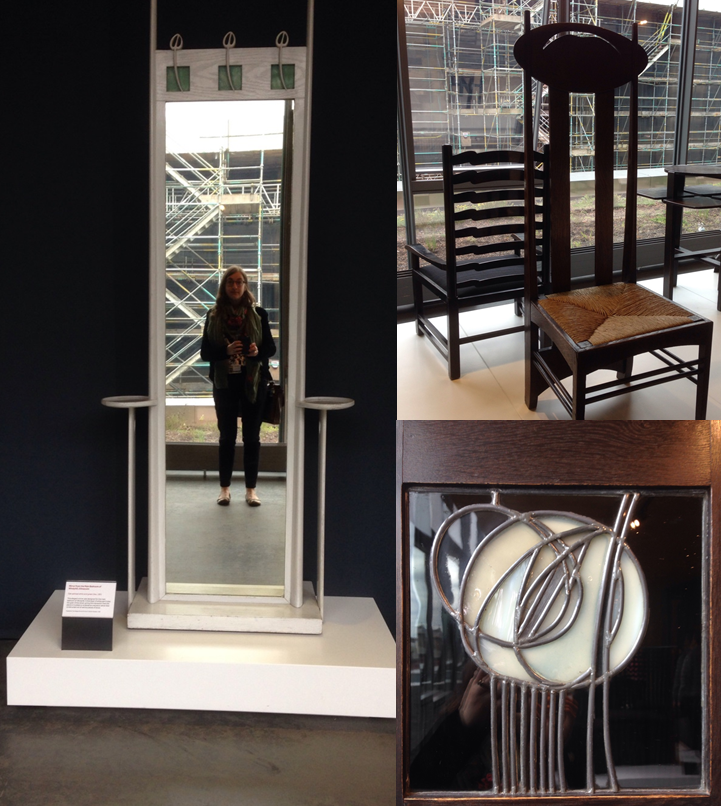 As part of my induction I enjoyed a tour around the Mackintosh furniture store in the Reid Building.