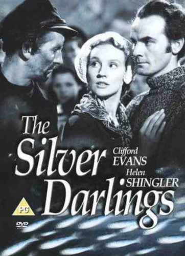 DVD cover for The Silver Darlings. Image courtesy of The Movie Scene.