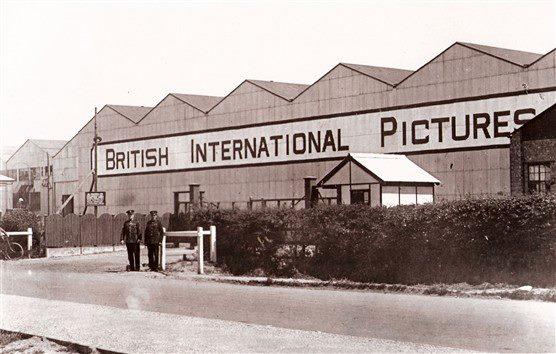 British International Pictures around 1940. Image courtesy of The Studio Tour.