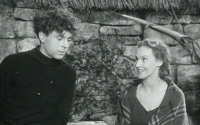 """Still from Clarence Elder's most well known film """"The Silver Darlings"""". Image courtesy of  The Movie Scene."""