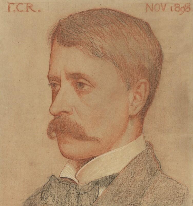 Self portrait of Frederick Cayley Robinson
